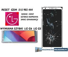 Wymiana szybki LG G6 LG G5 G4 serwis 515902444